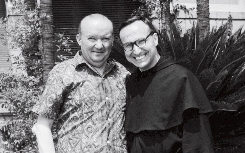 Raoul Follereau e frate missionario