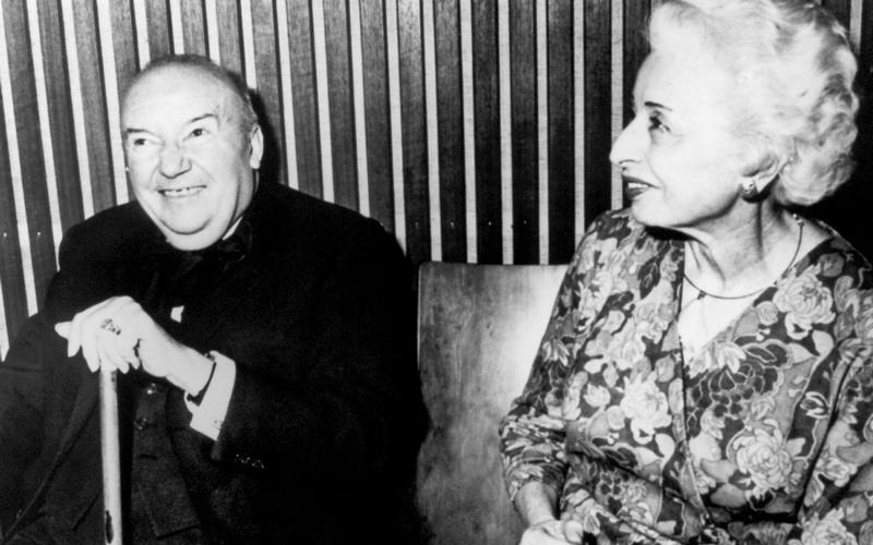Raoul Follereau e moglie