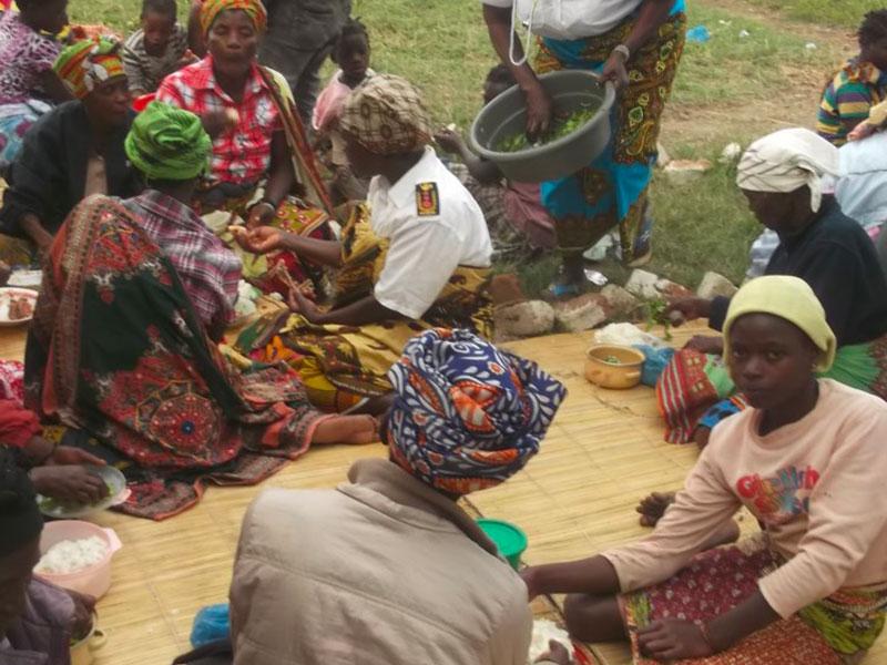 Donne riunite nel progetto Benessere