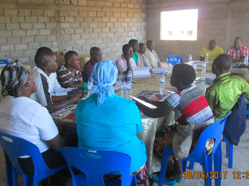 Persone riunite nel progetto Benessere