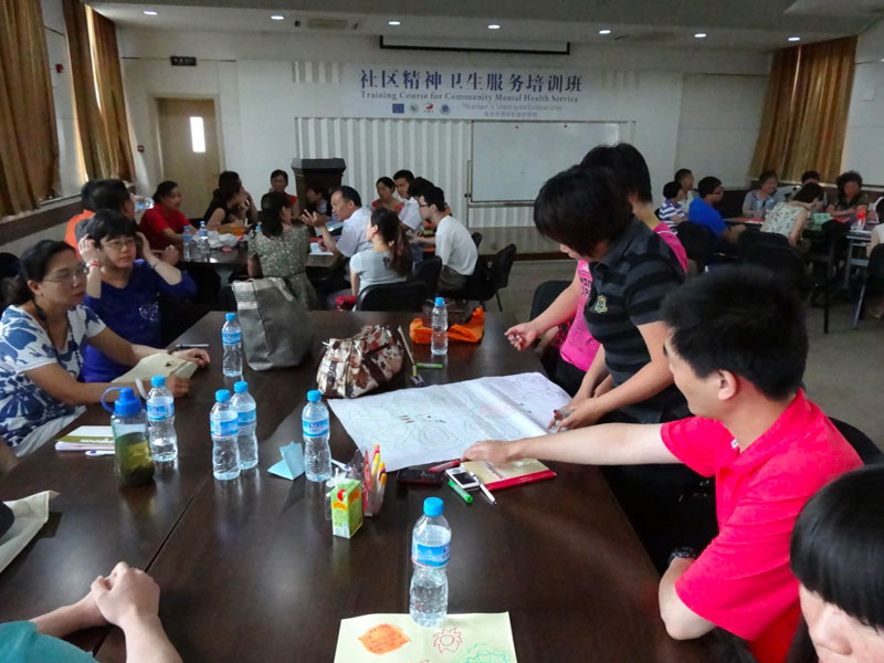 Persone riunite nel progetto Mind