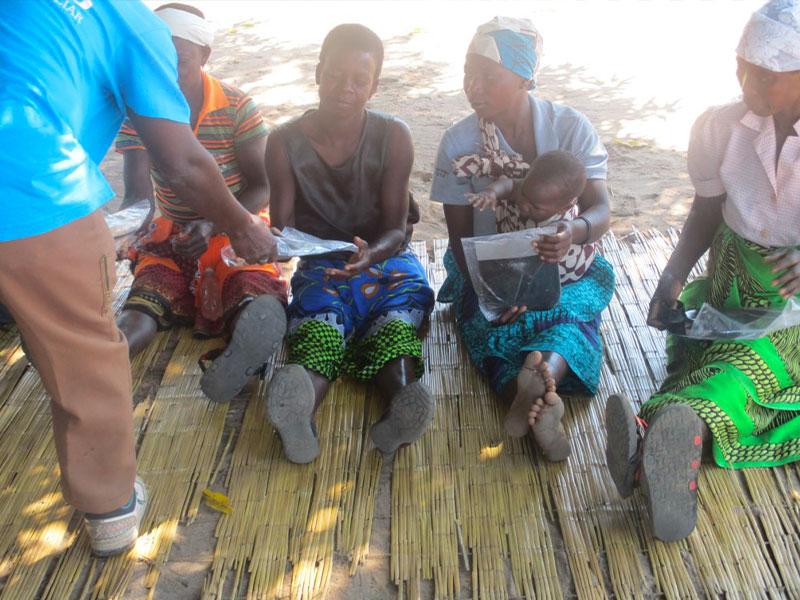 Persone nel progetto a Nampula