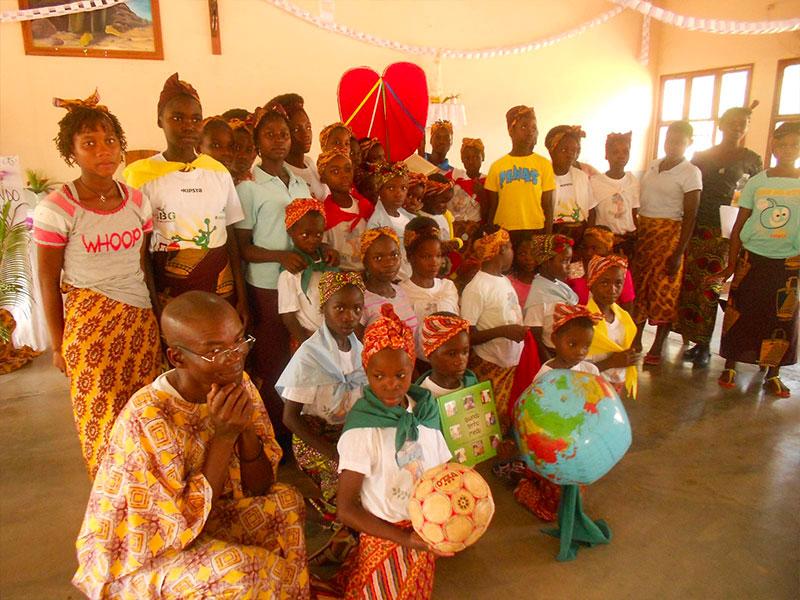 Donne riunite nel progetto a Nampula