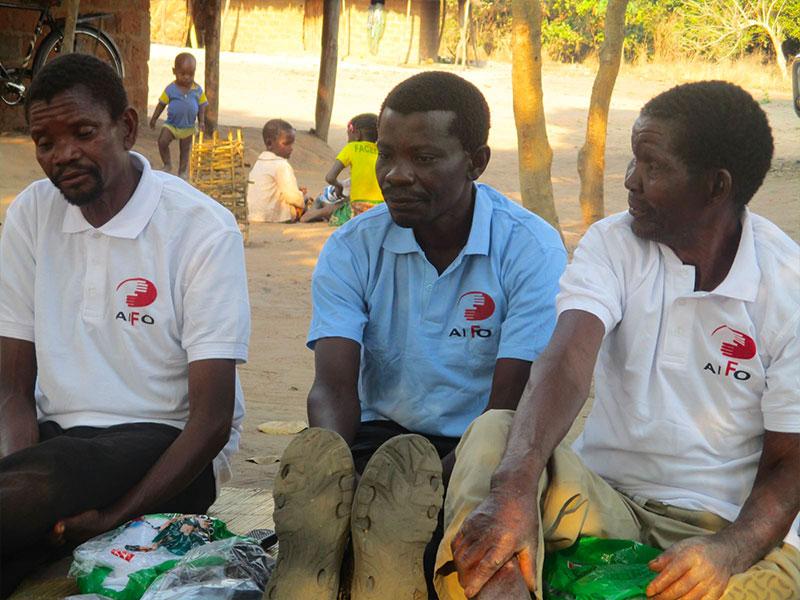 Volontari AIFO nel progetto a Nampula