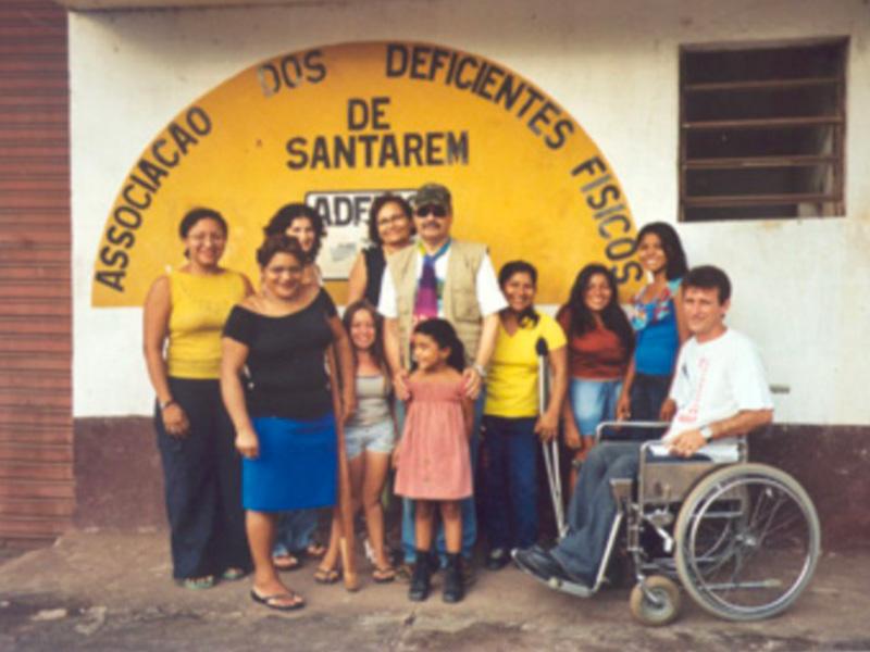Persone riunite nel progetto a Santarem