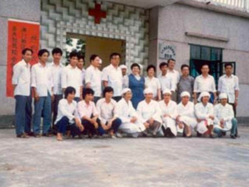 Persone riunite nel progetto in Yunnan