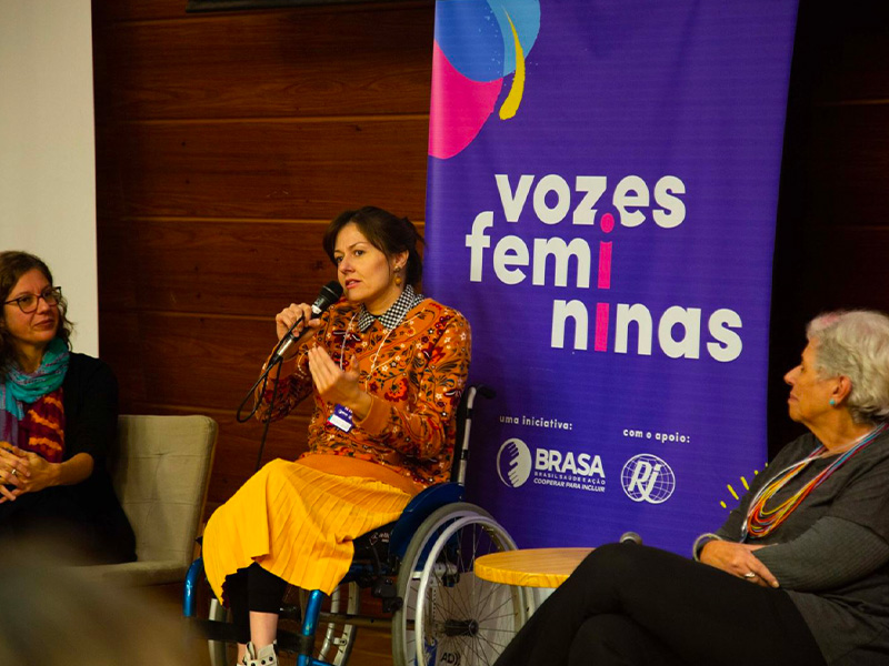 Evento Vozes Femininas